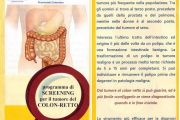 SCREENING PER IL TUMORE DEL COLON RETTO