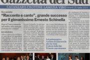 ERNESTO SCHINELLA - SHOW PER AVIS