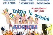 AVIS AUGURA BUON INIZIO ANNO SCOLASTICO 2014 - 2015